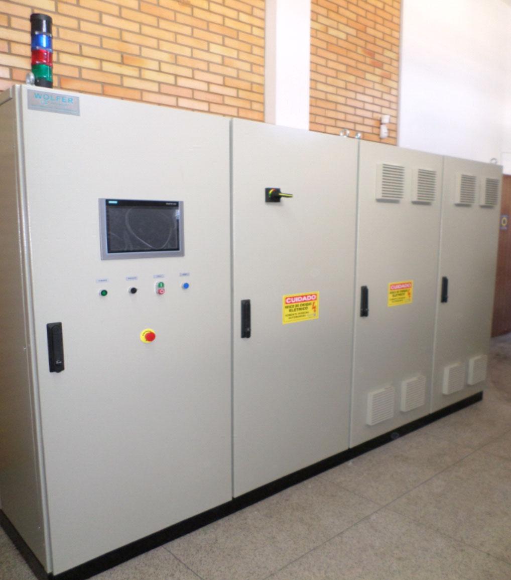 Painéis para automação de máquinas e processos industriais - WOLFER - Automação