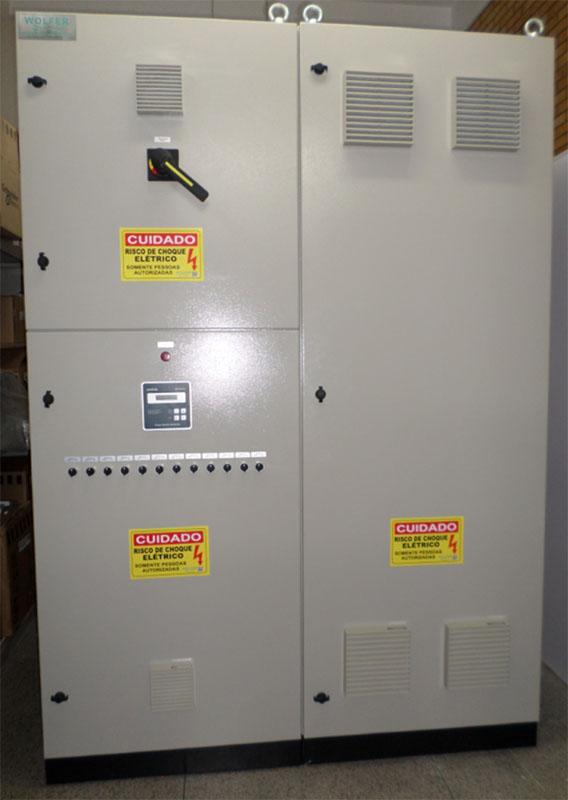 BAC - Banco de capacitores para correção de fator potência - WOLFER - Automação