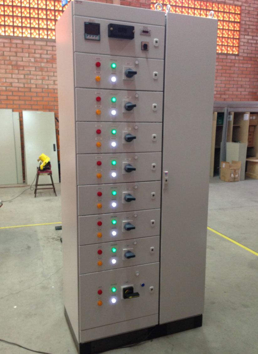 Painéis com certificação TTA/PTTA - NRB IEC 60439-1  - WOLFER - Automação